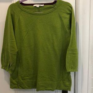 Boden cotton/cashmere/angora + sweater